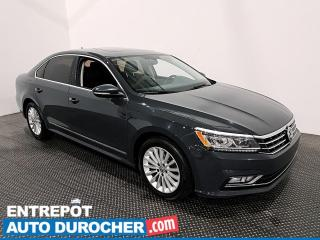 Used 2017 Volkswagen Passat Comfortline - Apple/Android - Toit Ouvrant - Cuir for sale in Laval, QC