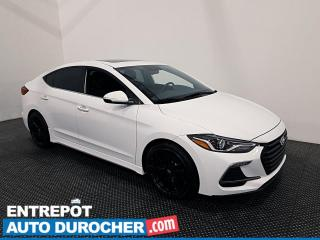 Used 2018 Hyundai Elantra Sport - Apple/Android - Bluetooth - Climatiseur for sale in Laval, QC