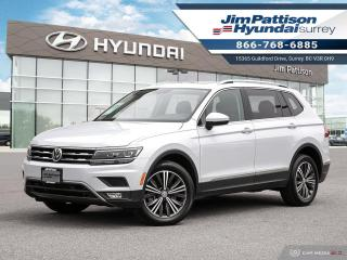 Used 2018 Volkswagen Tiguan Highline 4MOTION for sale in Surrey, BC