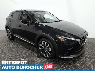 Used 2019 Mazda CX-3 GT - AWD - Navigation - Bluetooth - Climatiseur for sale in Laval, QC