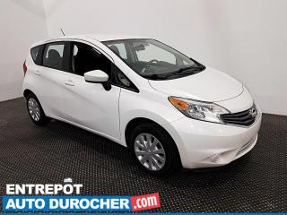 Used 2016 Nissan Versa Note SV - Caméra de Recul - Bluetooth - Climatiseur for sale in Laval, QC