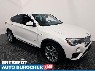 Used 2017 BMW X4 XDrive28i - AWD - Navigation - Climatiseur - Cuir for sale in Laval, QC