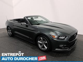 Used 2016 Ford Mustang V6 - Cabriolet - Bluetooth - Climatiseur for sale in Laval, QC