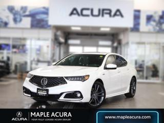 Used 2019 Acura TLX Tech A-Spec for sale in Maple, ON