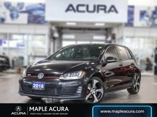 Used 2016 Volkswagen Golf GTI 5-Door Autobahn for sale in Maple, ON