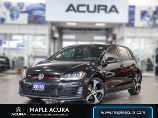 Used 2016 Volkswagen Golf GTI 5-Door Autobahn for sale in Maple, ON