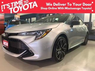 New 2021 Toyota Corolla HATCHBACK 6MT SE Upgrade/Non-Premium Colour APX 00 for sale in Mississauga, ON