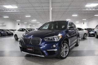 Used 2017 BMW X1 NO ACCIDENTS I PANOROOF I REAR CAM I PUSH START I LEATHER for sale in Mississauga, ON
