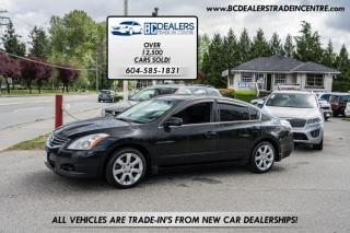 Used 2010 Nissan Altima 2.5 S, Keyless-Go, Black, Heated Seats, Sunroof, Bluetooth for sale in Surrey, BC
