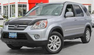 Used 2005 Honda CR-V EX-L|Htd Leather|Low KMS|Local - Just Arrived for sale in Brandon, MB