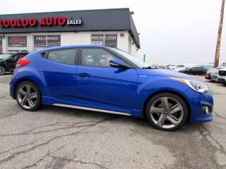 Used 2014 Hyundai Veloster TURBO AUTOMATIC NAVIGATION CERTIFIED for sale in Milton, ON