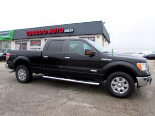 Used 2013 Ford F-150 XLT SuperCrew Eco Boost 3.5L V6 4WD Certified for sale in Milton, ON