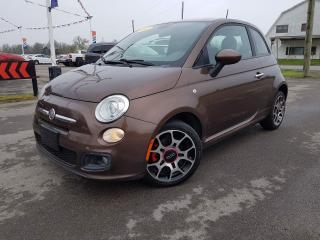Used 2012 Fiat 500 Sport for sale in Dunnville, ON