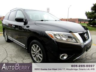 Used 2015 Nissan Pathfinder SL 4WD Navi B/Up Cam Accident Free for sale in Woodbridge, ON