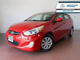 Used 2015 Hyundai Accent 1 OWNER   BLUETOOTH   SUNROOF   HEATED SEATS  - $71 B/W for sale in Brantford, ON