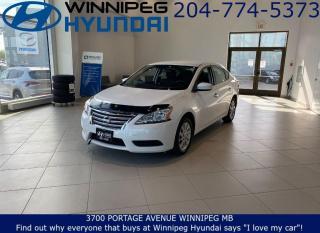 Used 2015 Nissan Sentra SV for sale in Winnipeg, MB
