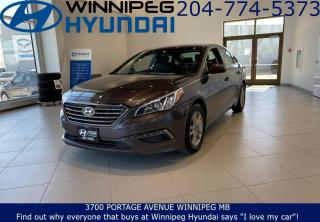 Used 2016 Hyundai Sonata 2.4L GL for sale in Winnipeg, MB