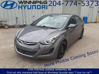 Used 2014 Hyundai Elantra GL for sale in Winnipeg, MB