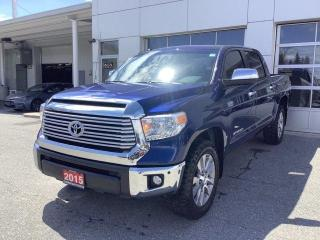 Used 2015 Toyota Tundra 4WD Crewmax 146 5.7L Limited for sale in North Bay, ON