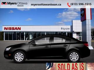 Used 2012 Chevrolet Cruze LS+ w/1SB for sale in Ottawa, ON