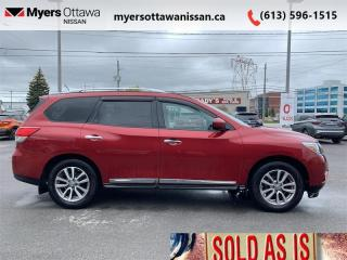 Used 2015 Nissan Pathfinder SL  - Leather Seats -  Bluetooth for sale in Ottawa, ON