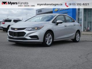 Used 2017 Chevrolet Cruze LT  - Heated Seats -  Touch Screen for sale in Kanata, ON