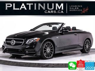 Used 2020 Mercedes-Benz E-Class AMG E53 4MATIC+, DISTRONIC, AMG PKG, APPLE/ANDROID for sale in Toronto, ON