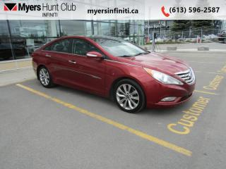 Used 2013 Hyundai Sonata Limited  - Sunroof -  Navigation for sale in Ottawa, ON