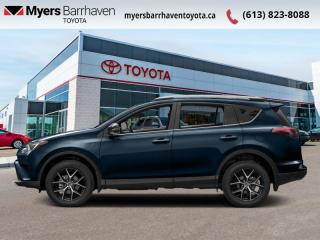 Used 2017 Toyota RAV4 AWD SE  - Navigation -  Sunroof - $176 B/W for sale in Ottawa, ON