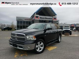 Used 2017 RAM 1500 SLT  RamBox - Uconnect 8.4 - Hitch - $240 B/W for sale in Ottawa, ON