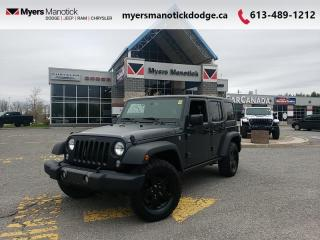 Used 2017 Jeep Wrangler Unlimited Big Bear  - Trade-in - $265 B/W for sale in Ottawa, ON