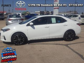 Used 2016 Toyota Corolla S Upgrade Package  -  Heated Seats for sale in Steinbach, MB