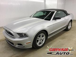 Used 2013 Ford Mustang Convertible V6 Mags *Bas Kilométrage* *Transmission Automatique* for sale in Shawinigan, QC