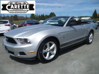 Used 2012 Ford Mustang Premium Décapotable for sale in East broughton, QC
