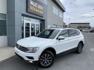 Used 2018 Volkswagen Tiguan 2.0T Comfortline for sale in St-Georges, QC