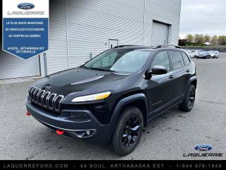 Used 2017 Jeep Cherokee Trailhawk 4 portes 4 roues motrices for sale in Victoriaville, QC