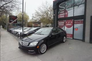 Used 2011 Mercedes-Benz C-Class C250, CUIR, TOIT for sale in Laval, QC