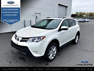 Used 2015 Toyota RAV4 Traction intégrale 4 portes Limited for sale in Victoriaville, QC