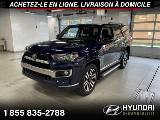 Used 2018 Toyota 4Runner LIMITED + NAVI + TOIT + CUIR + CAMERA + for sale in Drummondville, QC