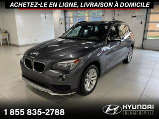 Used 2015 BMW X1 28i X-DRIVE + GARANTIE + TOIT + CUIR + W for sale in Drummondville, QC