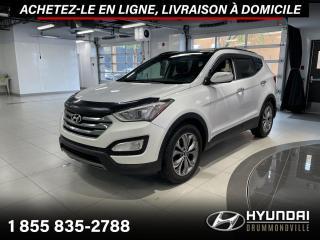 Used 2014 Hyundai Santa Fe Sport SE AWD + GARANTIE + TOIT PANO + CUIR + W for sale in Drummondville, QC