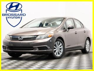 Used 2012 Honda Civic Auto EX MAGS CRUISE TOIT OUVRANT BLUETOOTH for sale in Brossard, QC