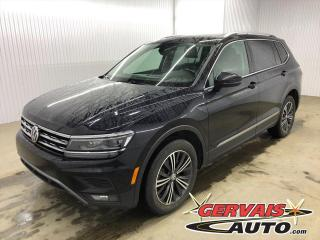 Used 2018 Volkswagen Tiguan Highline 4Motion AWD GPS Cuir Toit Panoramique *Traction intégrale* for sale in Shawinigan, QC