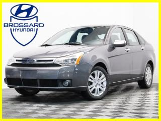 Used 2010 Ford Focus SEL CUIR TOIT OUVRANT TRES BAS KM for sale in Brossard, QC
