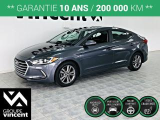 Used 2017 Hyundai Elantra GL ** GARANTIE 10 ANS ** La version la plus populaire! for sale in Shawinigan, QC