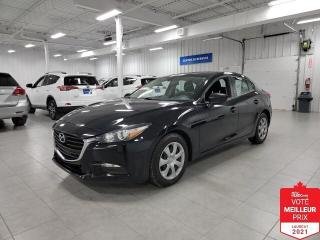 Used 2017 Mazda MAZDA3 GX - A/C + CAMERA + JAMAIS ACCIDENTE !!! for sale in St-Eustache, QC