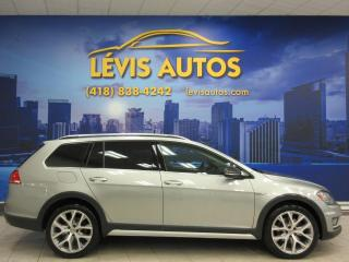 Used 2017 Volkswagen Golf Alltrack 4MOTION GPS NAVIGATION TOIT PANORAMIQUE for sale in Lévis, QC