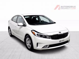 Used 2017 Kia Forte LX Auto A/C Caméra Sièges Chauffants Bluetooth for sale in St-Hubert, QC