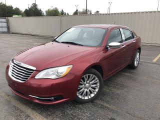 Used 2013 Chrysler 200 Limited 2WD for sale in Cayuga, ON