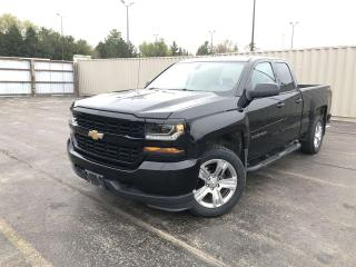 Used 2017 Chevrolet Silverado 1500 DBLE CAB 4WD for sale in Cayuga, ON